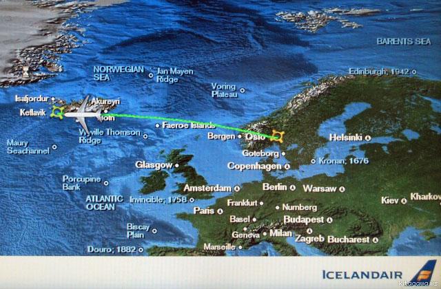 アイスランド航空 旅行記