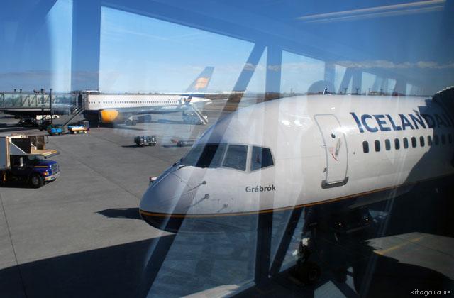 アイスランド ケフラヴィーク国際空港