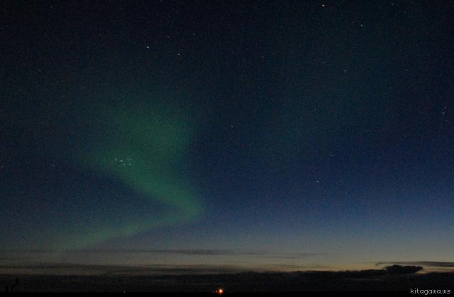 アイスランド観光 オーロラツアー