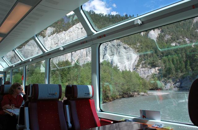 氷河急行 スイス