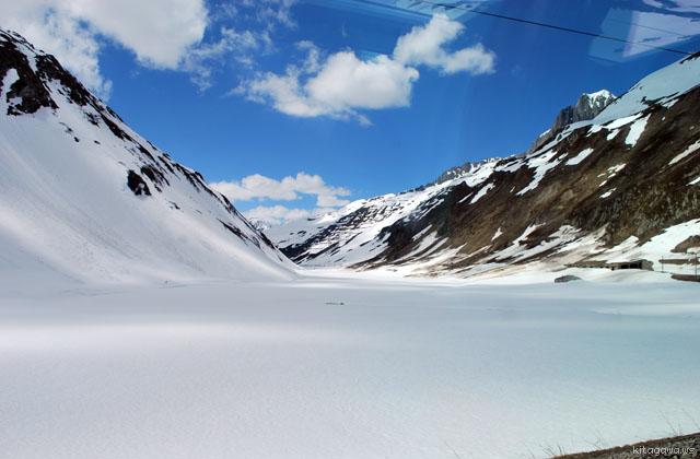 氷河 雪原