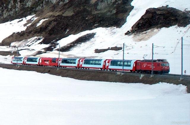 スイス 氷河急行 Glacier Express