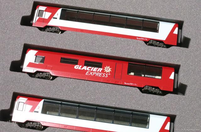 鉄道模型 Glacier Express 氷河特急