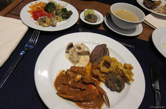 モルディブ レストラン