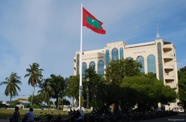 共和国広場 Jumhooree Maidhaan