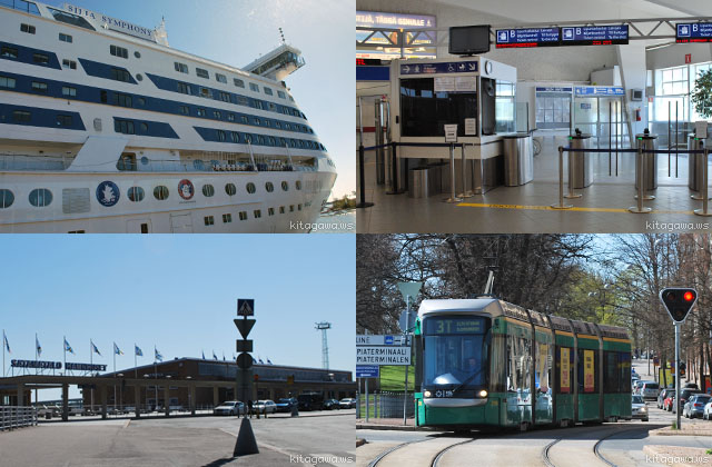 ヘルシンキ 港 行き方