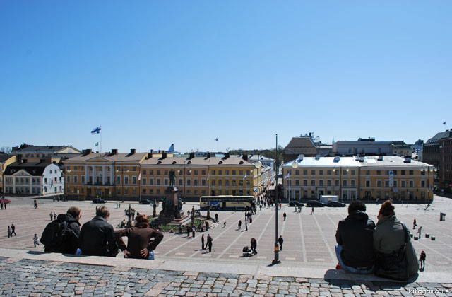 ヘルシンキ大聖堂 フィンランド旅行記