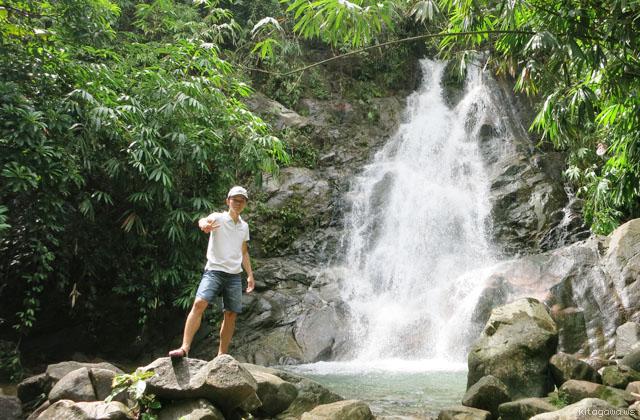 カオラック 滝 Sai Rung Waterfall