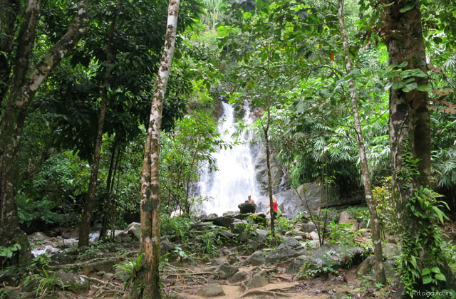 カオラック Sai Rung Waterfall サイルン滝