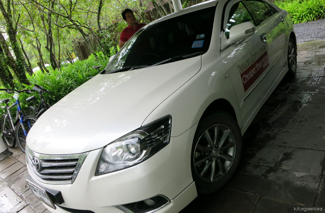 BOSS TAXI カオラック タクシー