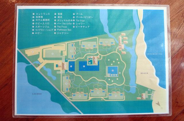 サロジン リゾートマップ