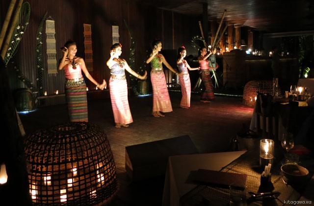 タイ舞踊 ディナーショー
