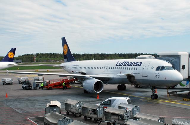 ルフトハンザ航空 ヘルシンキ-フランクフルト