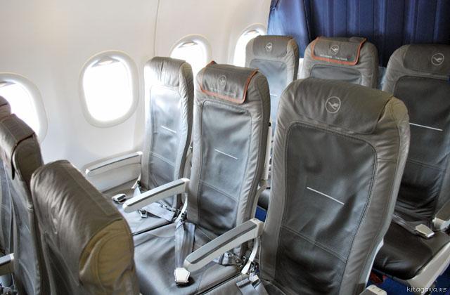ルフトハンザ航空ヨーロッパ線ビジネスクラスシート