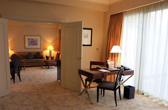 デラックススイート@ウェスティンリゾートマカオホテル