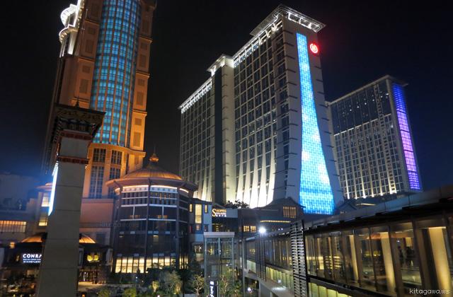 シェラトン・マカオホテル・コタイセントラル Sheraton Macao Hotel, Cotai Central