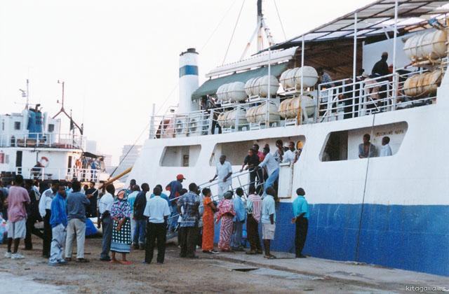 ムトワラ ダルエスサラーム 船