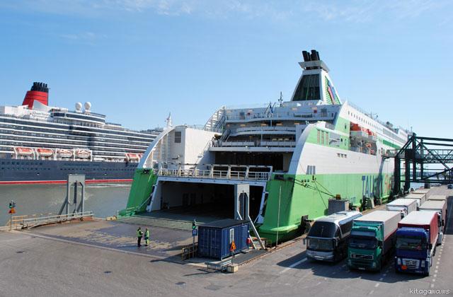 フィンランドからエストニア 船 行き方