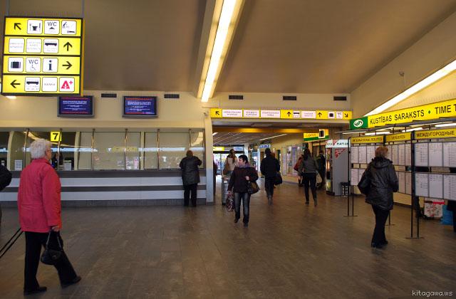 リガ バスターミナル