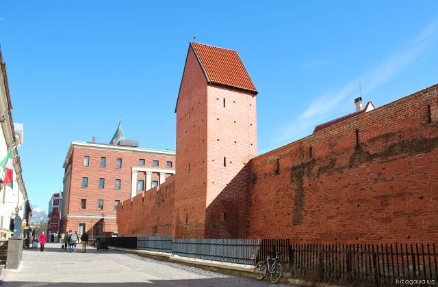 リガ 城壁