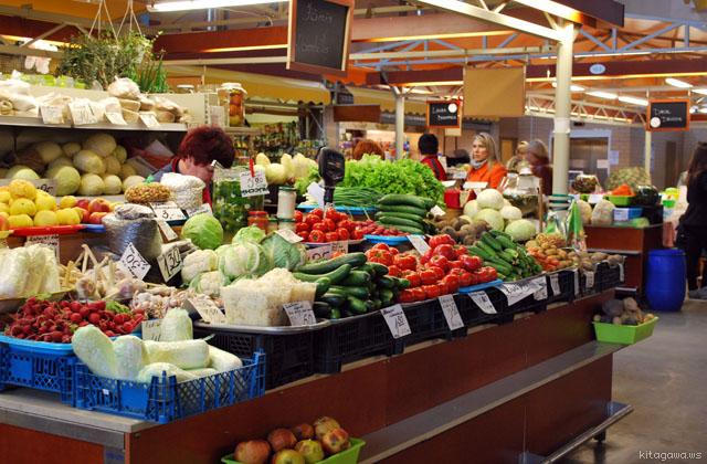 リガ 中央市場 ラトビア