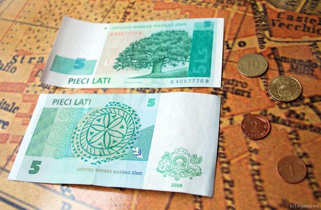 ラトビア 通貨 ラッツ