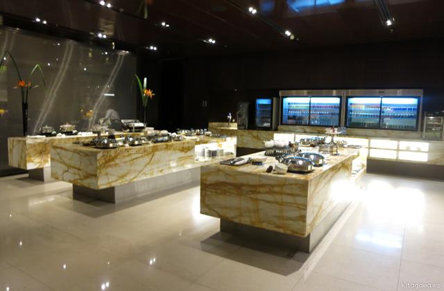 チャンギ ターミナル3 ビジネスクラスラウンジ
