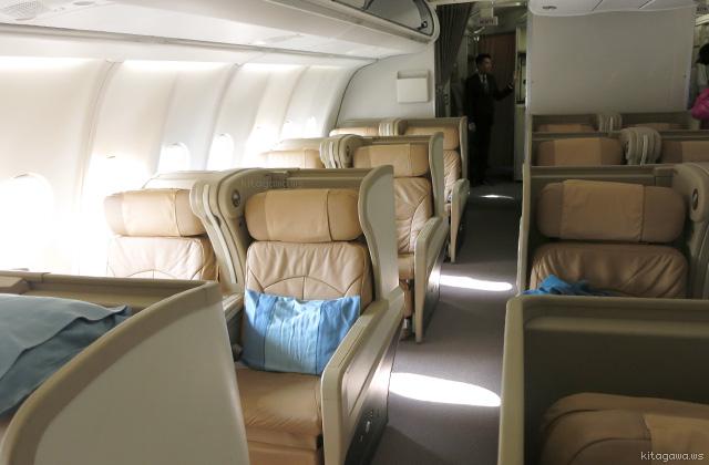 シンガポール航空(SQ)A330 ビジネスクラス搭乗記