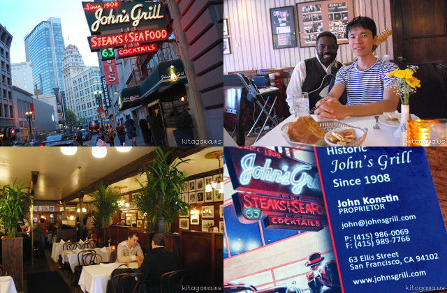 John's Grill, San Francisco Steak House