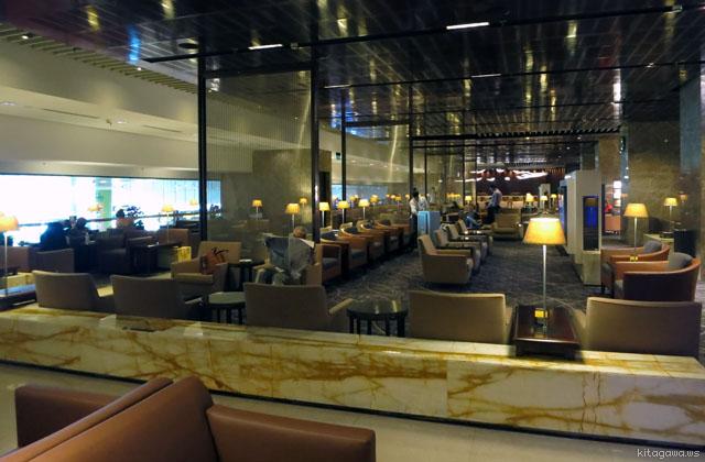 チャンギ空港シンガポール航空シルバークリスラウンジ