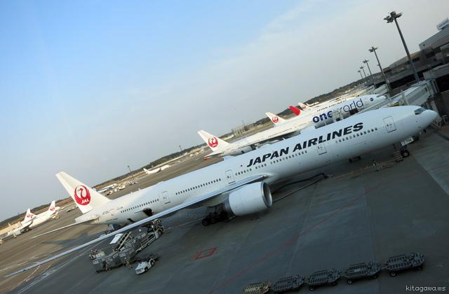 JAL 777 ファーストクラス搭乗記