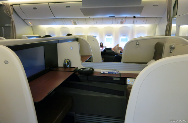 日本航空ファーストクラス搭乗記