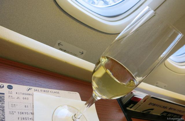 JAL 777 スカイスイート ファーストクラス搭乗記