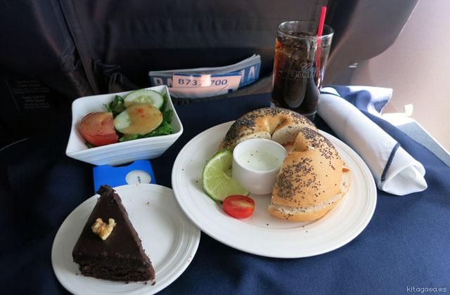 コパ航空ビジネスクラス機内食