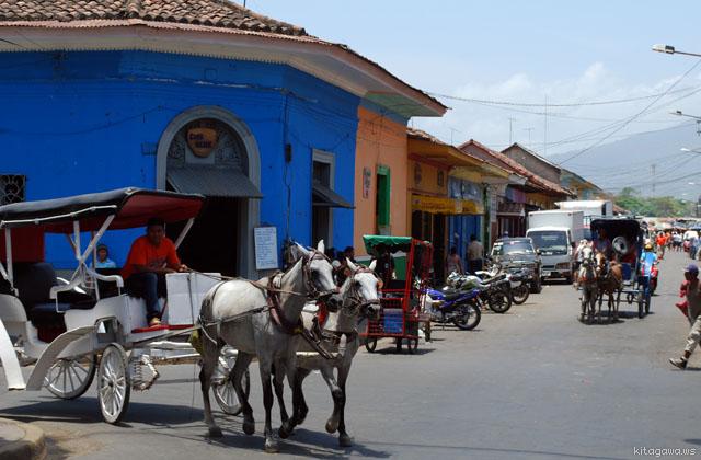 ニカラグア旅行記 グラナダ
