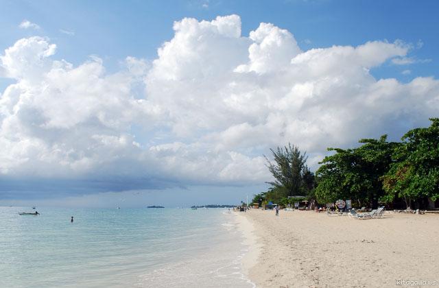 7マイルビーチ ネグリル ジャマイカ