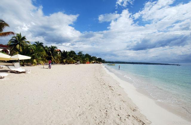 7マイルビーチ ジャマイカ