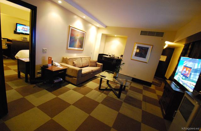 スイートルーム@シェラトンパナマホテル&コンベンションセンター