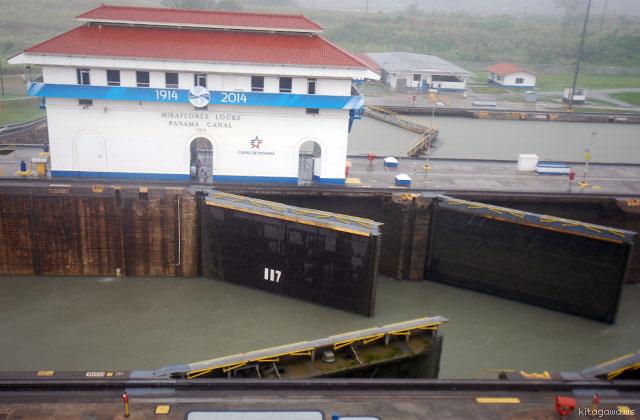 パナマ運河 見学