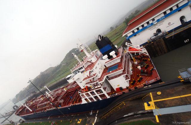 パナマ運河 ミラフローレス閘門
