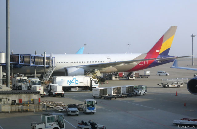 アシアナ航空B777-200ビジネスクラス