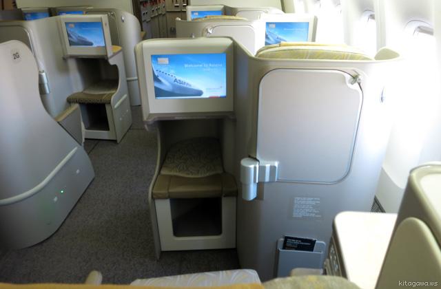 アシアナ航空B777-200ERビジネスクラス搭乗記
