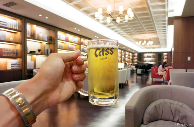 cass beer 韓国ビール