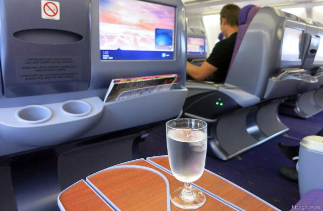 タイ航空A330-300ビジネスクラス