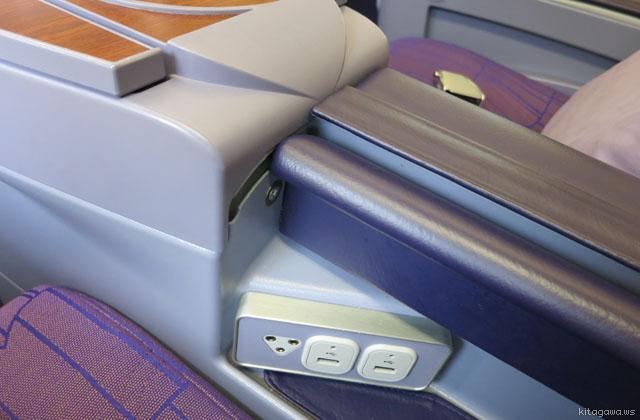 タイ航空 ビジネスクラス シート