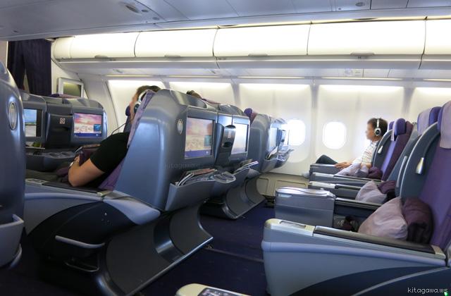 タイ航空33Hビジネスクラス