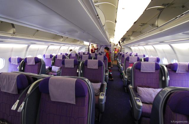 TGタイ航空ロイヤルシルクA330-300 33Hビジネスクラス搭乗記