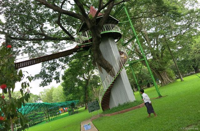 ヤンゴン 人民公園