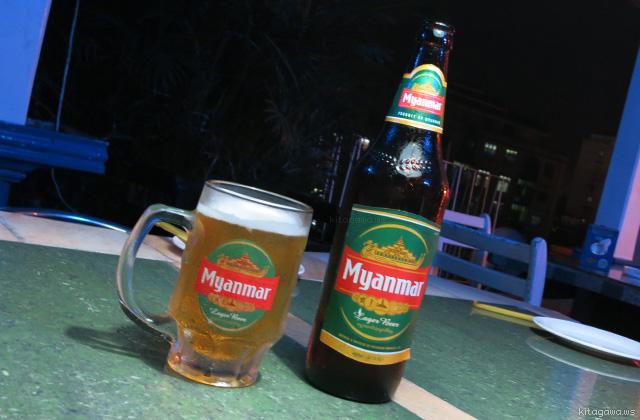 ミャンマービール Myanmar Beer