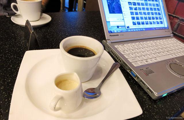 ヤンゴンのコーヒー
